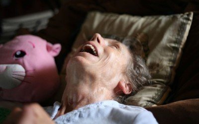 Son documents mom's dementia in 11 touching photographs